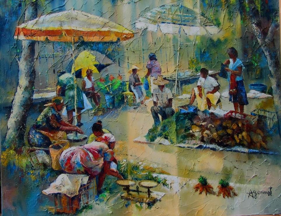 marché à la Martinique 2